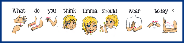 What do you think Emma should wear today? Sign Language. Signing Exact English