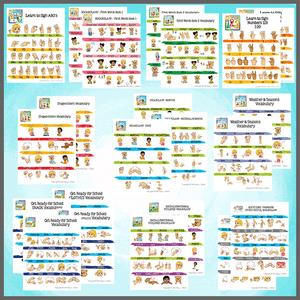 Vocabulary- Full set-Vocabulary Sheets-Emma & Egor-Emma & Egor