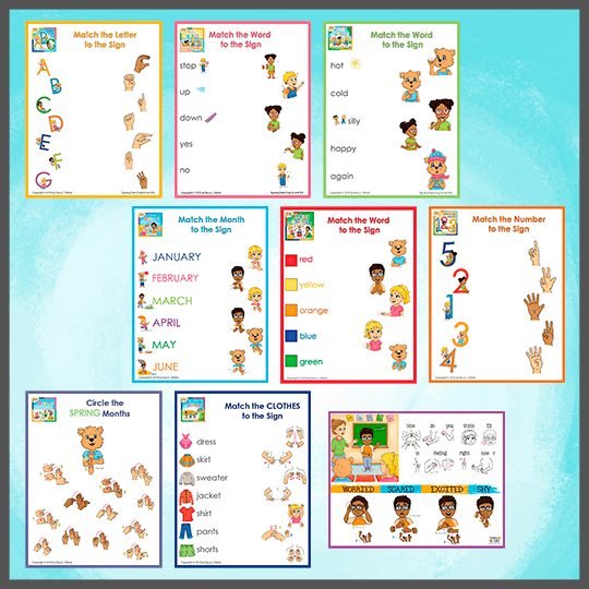 Emma and Egor-Full Set-Worksheets-Worksheets-Emma & Egor-Emma & Egor