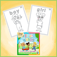 Coloring Pages BOY-GIRL-Print at Home-Coloring Book-Emma & Egor-Emma & Egor
