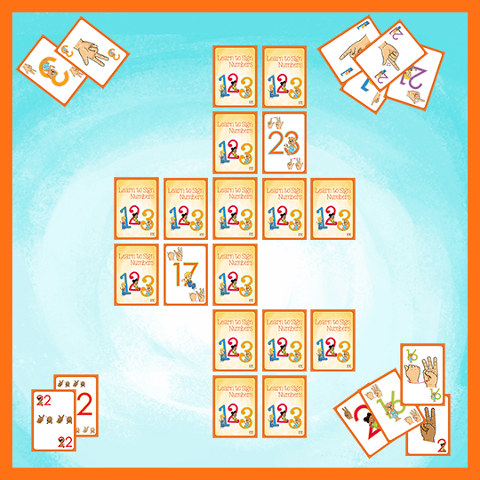 Emma and Egor-Learn to Sign Numbers-Playing Cards-Playing Cards-Emma & Egor-Emma & Egor