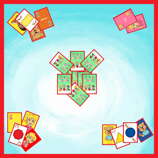 Playing Cards-Shapes and Colors-Playing Cards-Emma & Egor-Emma & Egor