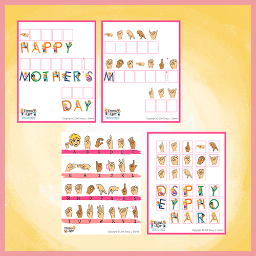 Worksheets-Mother's Day 2019-Print at Home-Worksheets - Print at Home-Emma & Egor-Emma & Egor