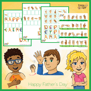 Matching Game-Father's Day 2019-Print at Home-Worksheets - Print at Home-Emma & Egor-Emma & Egor