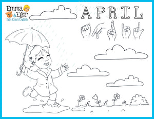 Months of the year coloring pages | Preschool coloring pages ... | 232x300