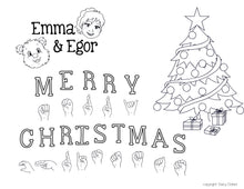 Load image into Gallery viewer, Christmas-Print at Home-Coloring Pages-Coloring Book-Emma & Egor-Emma & Egor