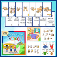 Book and Flashcards-Get Ready for School-Book-Flashcards-Emma & Egor-Emma & Egor