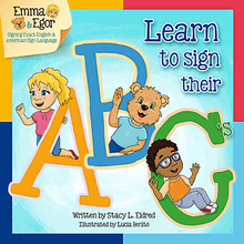 Load image into Gallery viewer, Infant/Toddler Sign Language Kit-Kit-Emma & Egor-Emma & Egor