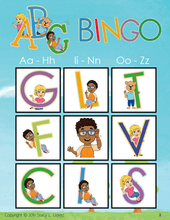 Load image into Gallery viewer, Bingo-ABC's-BINGO-Emma & Egor-Emma & Egor