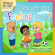 Load image into Gallery viewer, Book and Flashcards-How are you Feeling Today?-Book-Flashcards-Emma & Egor-Emma & Egor