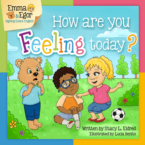 Book and Flashcards-How are you Feeling Today?-Book-Flashcards-Emma & Egor-Emma & Egor