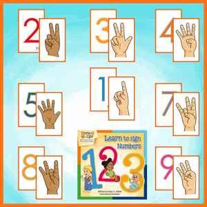 Emma and Egor-Learn to Sign Numbers-Flashcards-Flashcards-Emma & Egor-Emma & Egor