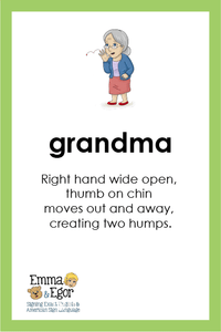 Flashcards-Family-Print at Home-Flashcards - Print at Home-Emma & Egor-Emma & Egor