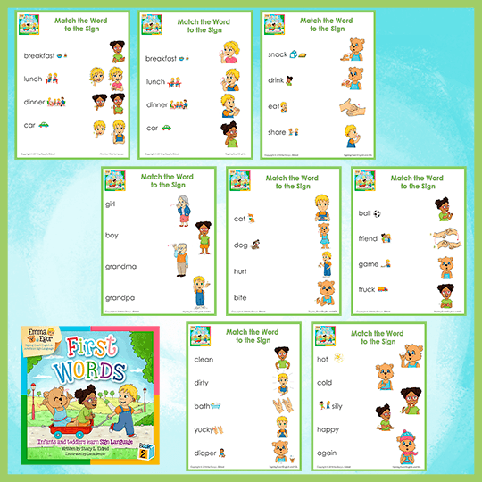 Emma and Egor-First Words 2-Worksheets-Worksheets-Emma & Egor-Emma & Egor