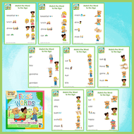 Worksheets-First Words 2-Worksheets-Emma & Egor-Emma & Egor