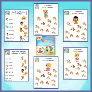 Emma and Egor-What is the Weather Like Today?-Worksheets-Worksheets-Emma & Egor-Emma & Egor