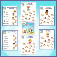 Worksheets-What is the Weather Like Today?-Worksheets-Emma & Egor-Emma & Egor