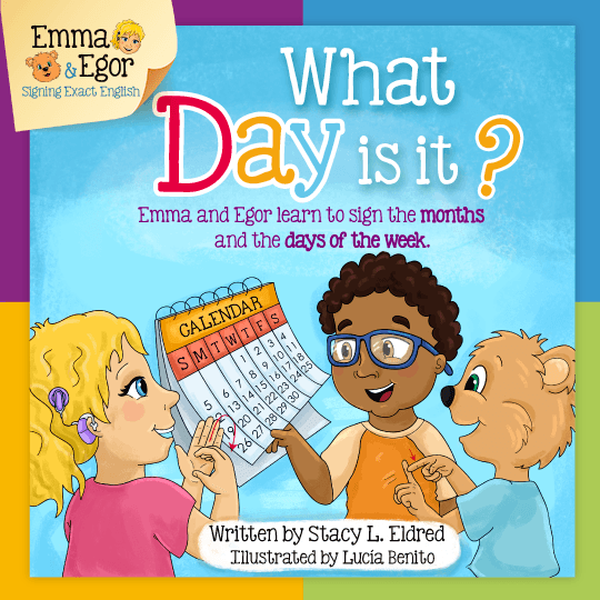Emma and Egor-What Day is it?-eBook-eBooks-Emma & Egor-Emma & Egor