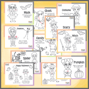 Coloring Pages-HALLOWEEN-Print at Home-Coloring Book-Emma & Egor-Emma & Egor