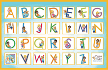 Load image into Gallery viewer, Placemats-ABCs-Placemat-Emma & Egor-Emma & Egor