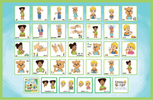 Load image into Gallery viewer, Placemats Set of 3 - ABC's, First Words 1 and 2-Placemat-Emma & Egor-Emma & Egor