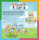 Emma and Egor-First Words Book 2-book-Books-Emma & Egor-Emma & Egor