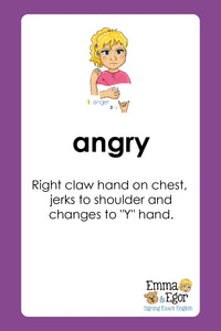 Flashcards-How are you Feeling Today?-Print at Home Special Edition-Flashcards - Print at Home-Emma & Egor-Emma & Egor