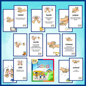 Flashcards-Get Ready for School!-Flashcards-Emma & Egor-Emma & Egor