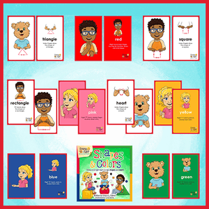Books and Flashcards-Full Set-Book-Flashcards-Emma & Egor-Emma & Egor