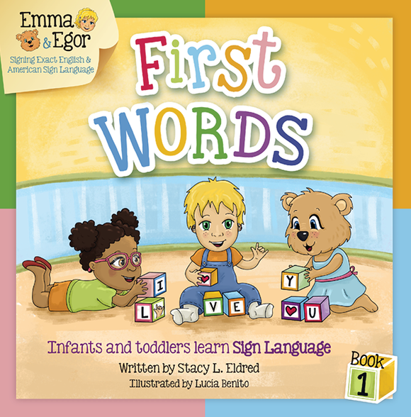 Emma and Egor-First Words 1-Book-Books-Emma & Egor-Emma & Egor