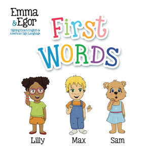 Book-First Words 1-Books-Emma & Egor-Emma & Egor