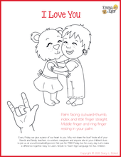 Load image into Gallery viewer, I Love You Man-Print at Home-Coloring Pages-Coloring Book-Emma & Egor-Emma & Egor