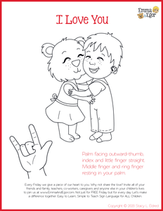 I Love You Man-Print at Home-Coloring Pages-Coloring Book-Emma & Egor-Emma & Egor