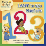 Emma and Egor Learn to Sign Numbers 123