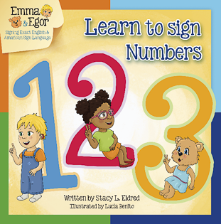 Emma and Egor-Learn to Sign Numbers-Book-Books-Emma & Egor-Emma & Egor