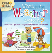 Load image into Gallery viewer, Book-What is the Weather Like Today?-Books-Emma & Egor-Emma & Egor