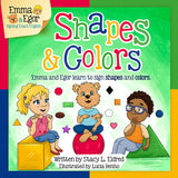 Emma and Egor-Learn Shapes and Colors-Book and Flashcards-Book-Flashcards-Emma & Egor-Emma & Egor