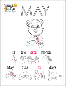 May-Print at Home-Coloring Pages-Coloring Book-Emma & Egor-Emma & Egor