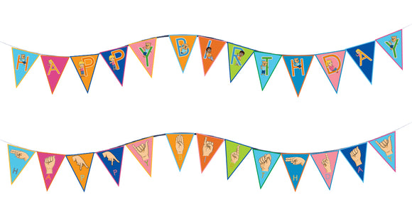 Happy Birthday Banner-Print at Home-Banner - Print at Home-Emma & Egor-Emma & Egor