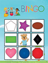 Load image into Gallery viewer, Bingo-Shapes and Colors-BINGO-Emma & Egor-Emma & Egor