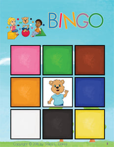 Bingo-Shapes and Colors-Print at Home-BINGO - Print at Home-Emma & Egor-Emma & Egor