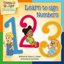 Load image into Gallery viewer, Book and Flashcards-Numbers 123-Book-Flashcards-Emma & Egor-Emma & Egor