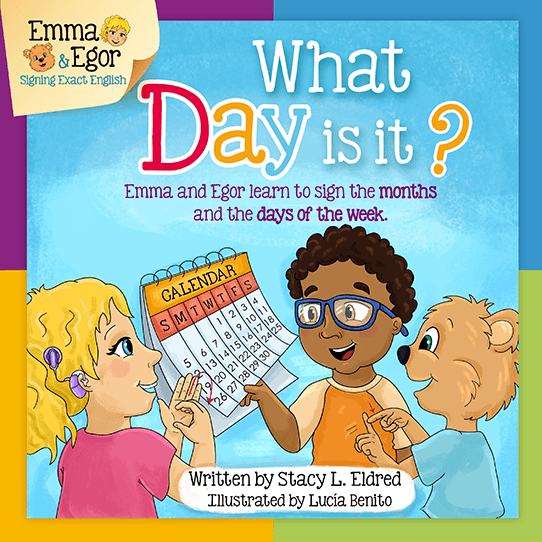 Emma and Egor-What Day Is It?-Book-Books-Emma & Egor-Emma & Egor