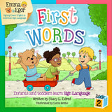 Emma and Egor-First Words 2-Book and Flashcards-Book-Flashcards-Emma & Egor-Emma & Egor