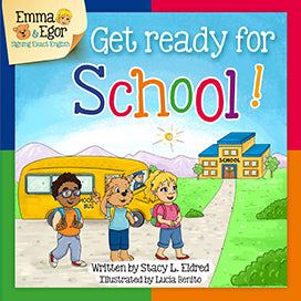 Emma and Egor-Get Ready for School-Book-Books-Emma & Egor-Emma & Egor