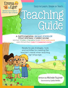 Teaching Guide-Infant and Toddler-Books-Emma & Egor-Emma & Egor