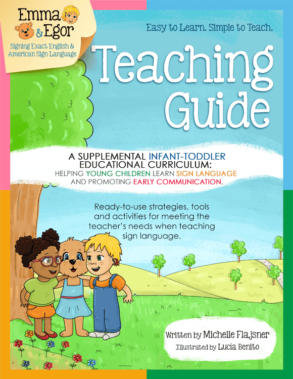 Emma and Egor-Infant and Toddler Teaching Guide-Book-Books-Emma & Egor-Emma & Egor