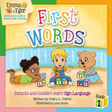 Emma and Egor-First Words 1-Book and Flashcards-Book-Flashcards-Emma & Egor-Emma & Egor