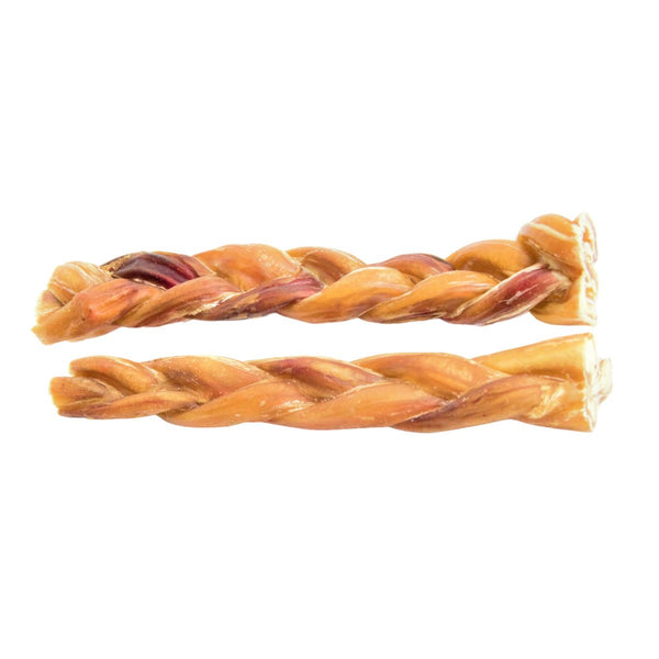 "Braided Bully Sticks 12"" - Thin - 5 Pack"