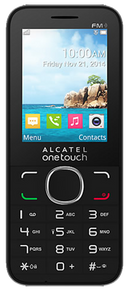 Alcatel 2045X (OT-2045X) mobile phone with alpha numeric and operating keys